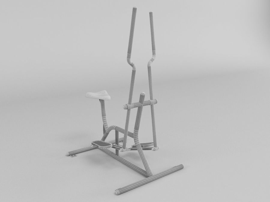 Équipement de fitness en plein air royalty-free 3d model - Preview no. 4