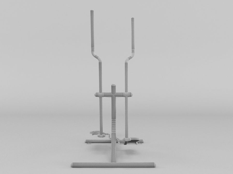 Équipement de fitness en plein air royalty-free 3d model - Preview no. 6