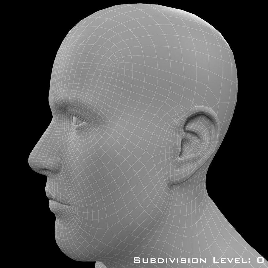 Männlicher Körper - manipuliert royalty-free 3d model - Preview no. 19