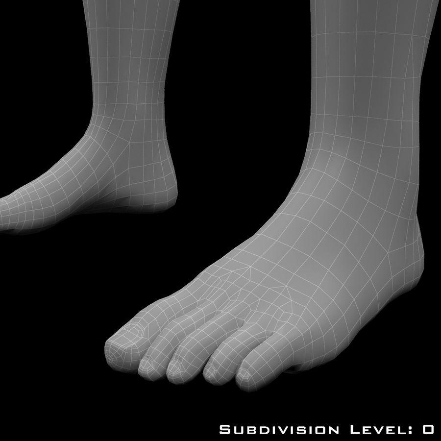 Männlicher Körper - manipuliert royalty-free 3d model - Preview no. 21