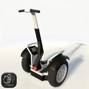 Segway低聚 3d model