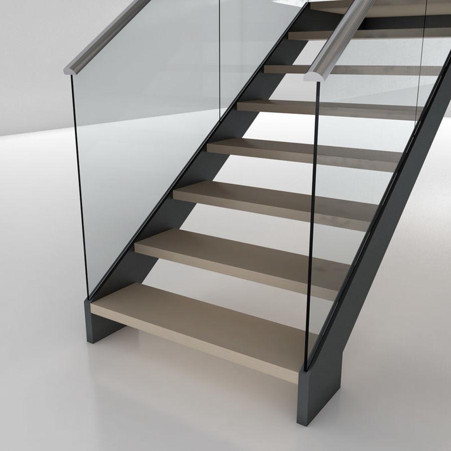 Escalier moderne 2 modèle 3D $19 - .unknown .dae .dxf .fbx .obj .lwo ...