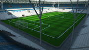 Soccer Stadium 2 3d model
