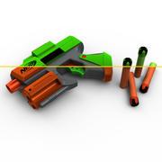 NERF Dart Tag Set (Lite Edition) 3d model