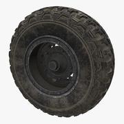 Buggy Wheel 3d model