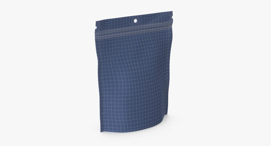 Doypack Pouch royalty-free 3d model - Preview no. 12