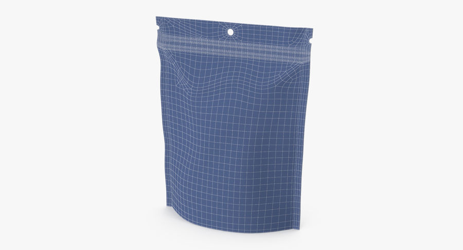 Doypack Pouch royalty-free 3d model - Preview no. 10