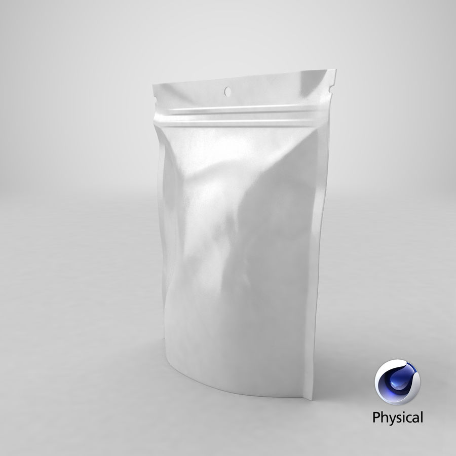 Doypack Pouch royalty-free 3d model - Preview no. 26