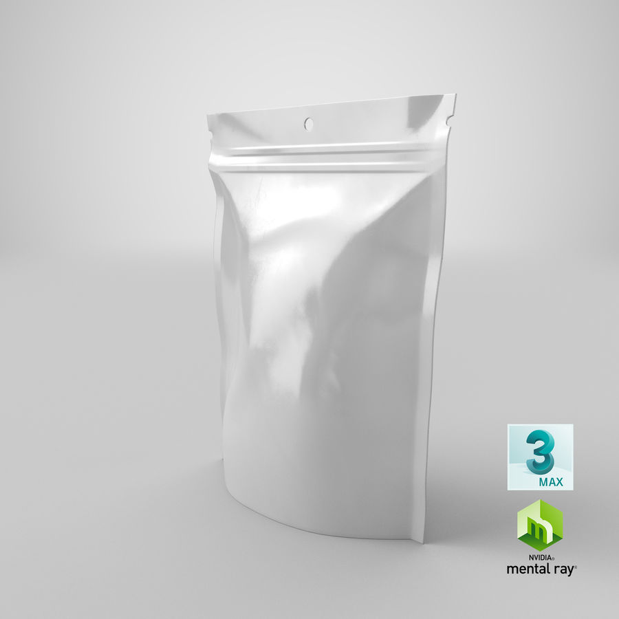 Doypack Pouch royalty-free 3d model - Preview no. 23