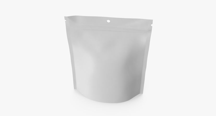 Doypack Pouch royalty-free 3d model - Preview no. 6