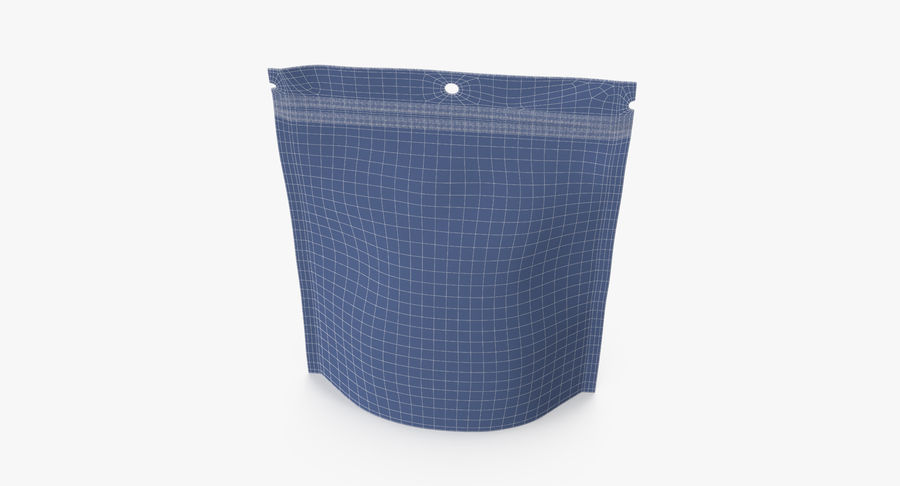 Doypack Pouch royalty-free 3d model - Preview no. 13