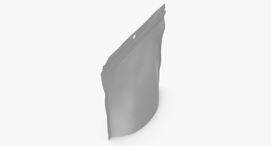Doypack Pouch royalty-free 3d model - Preview no. 9