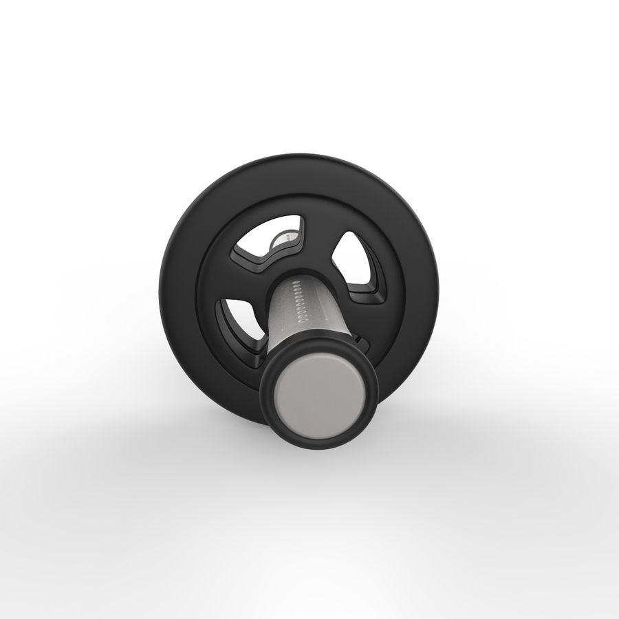Double Rollers Övningar Utbildning Sarneige royalty-free 3d model - Preview no. 3