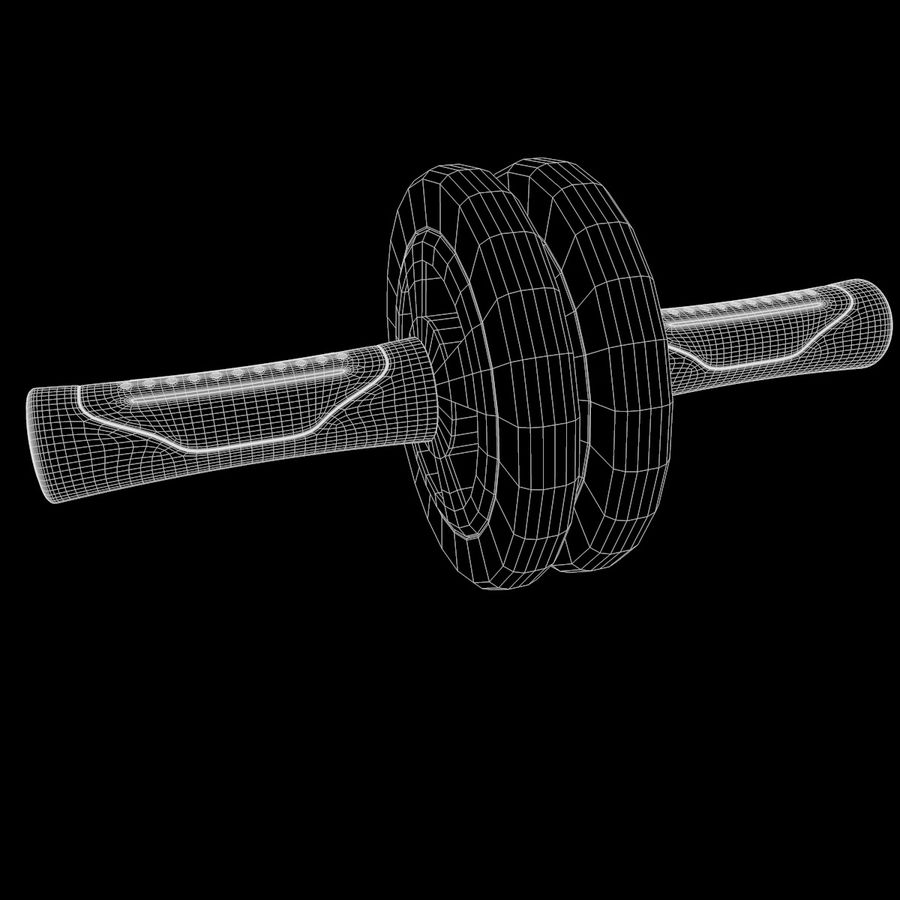 Double Rollers Övningar Utbildning Sarneige royalty-free 3d model - Preview no. 9