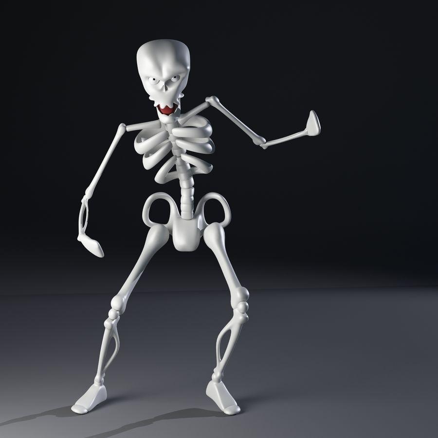 Szkielet royalty-free 3d model - Preview no. 6
