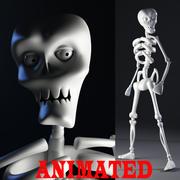 Szkielet 3d model