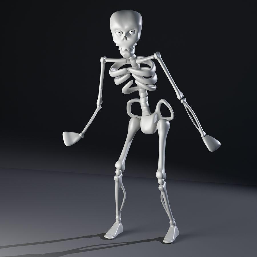 Szkielet royalty-free 3d model - Preview no. 5