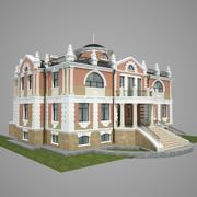 Classic small palace 3d model