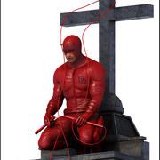 Daredevil, Marvel. 3d model