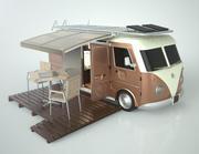 Camping VAN 3d model
