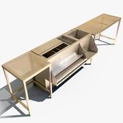 バー駅 3d model