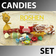 Candies Set Roshen 3d model