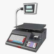 Digital Price Computing Scale 3d model