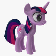 Min Little Pony Twilight Sparkle 3d model