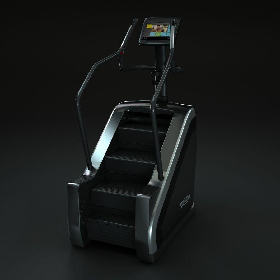 Technogym Stepmill Climb Unity Run Gym Step Excite 3d