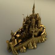 Zamek 3d model