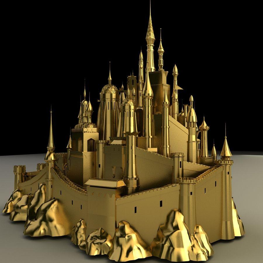 城堡 royalty-free 3d model - Preview no. 4