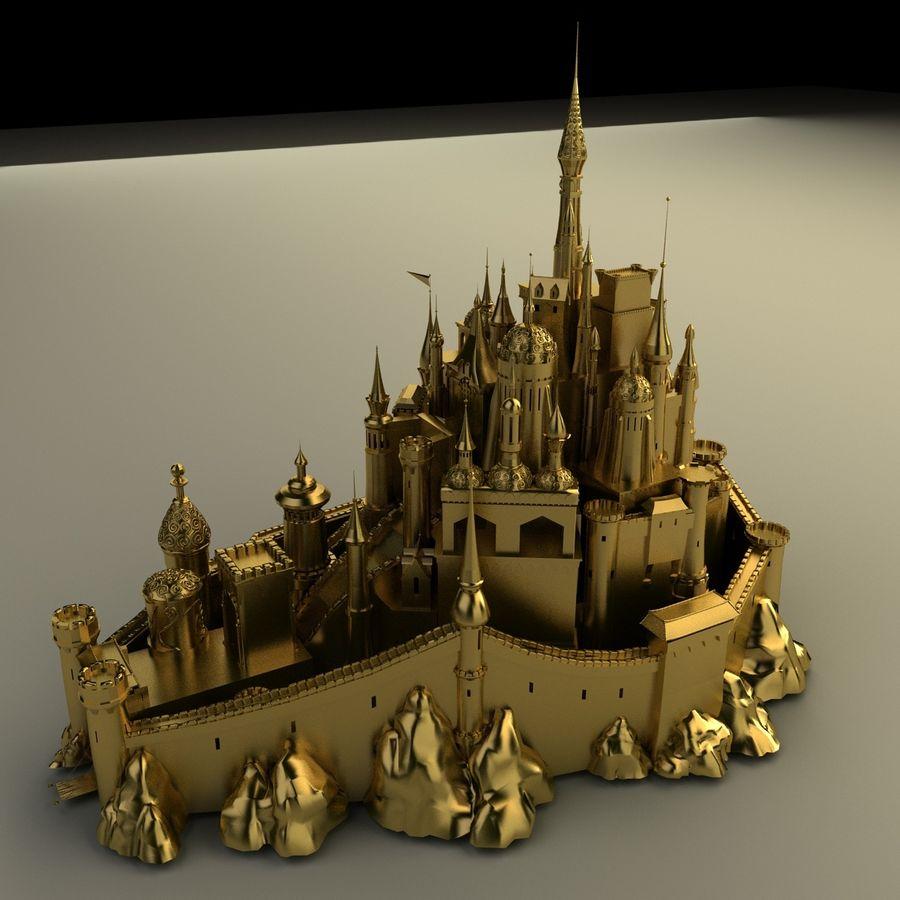 城堡 royalty-free 3d model - Preview no. 3