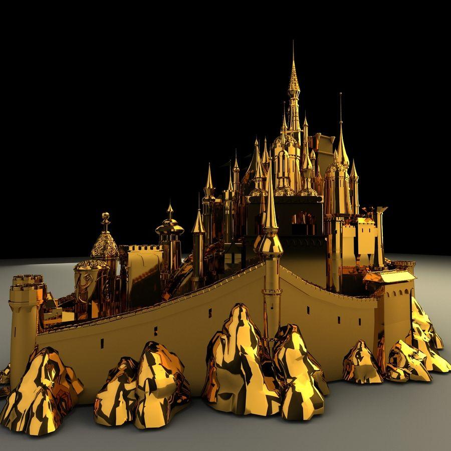 城堡 royalty-free 3d model - Preview no. 2