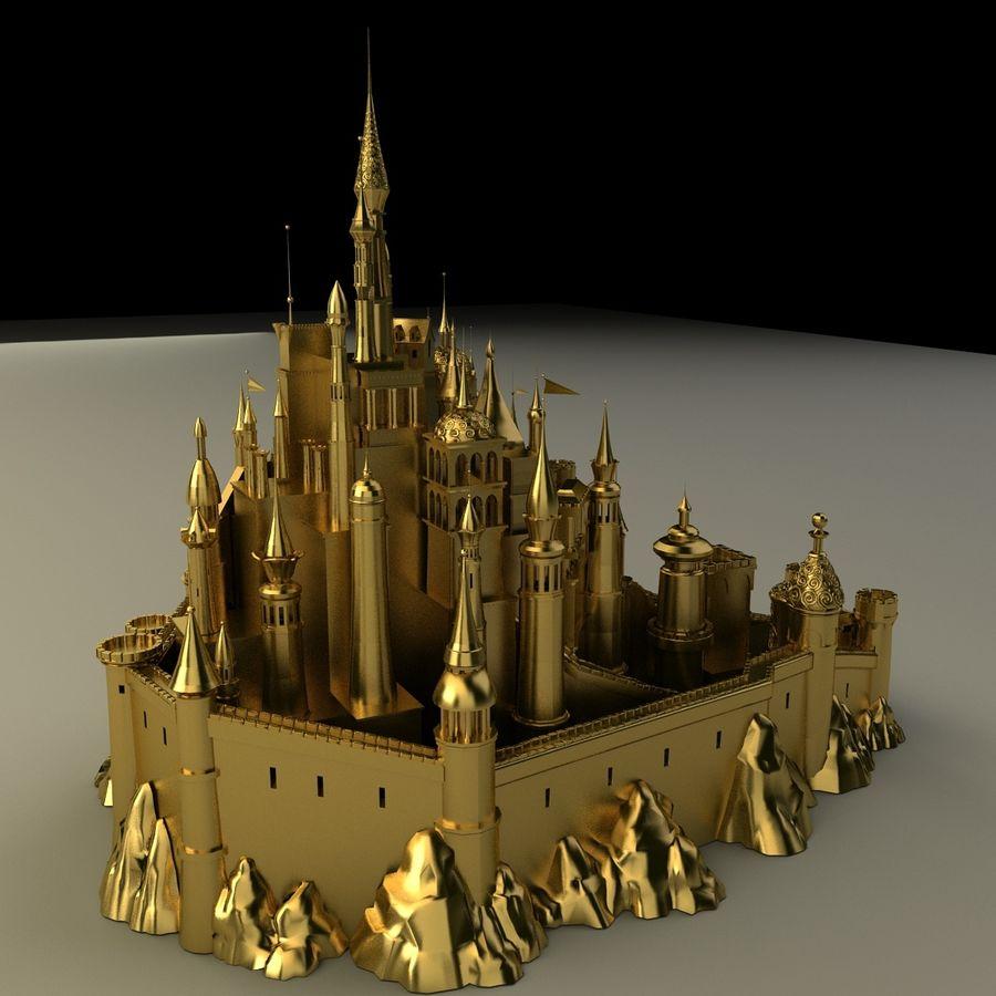 Castle royalty-free 3d model - Preview no. 7