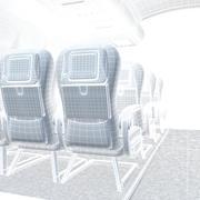 Kabina samolotu 3d model