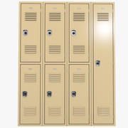 шкафчики 3d model