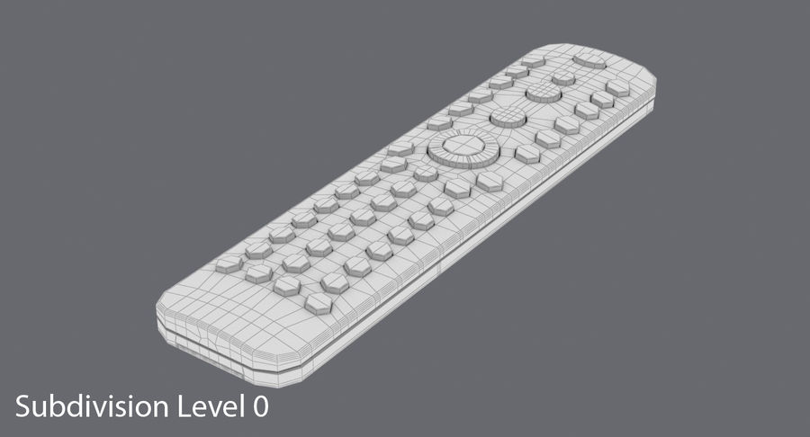 Remote Control royalty-free 3d model - Preview no. 13
