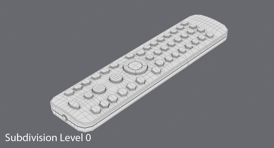 Remote Control royalty-free 3d model - Preview no. 15