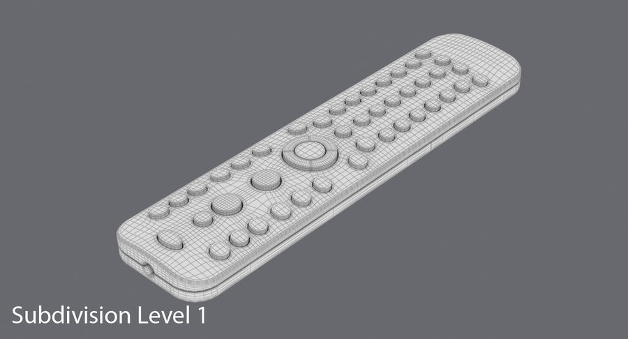 Remote Control royalty-free 3d model - Preview no. 18