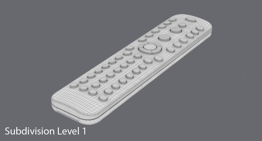 Remote Control royalty-free 3d model - Preview no. 16