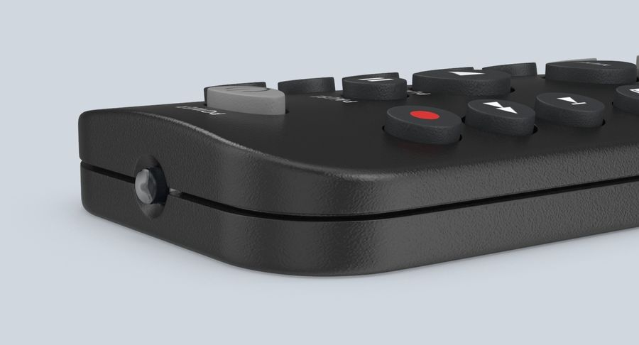 Remote Control royalty-free 3d model - Preview no. 9