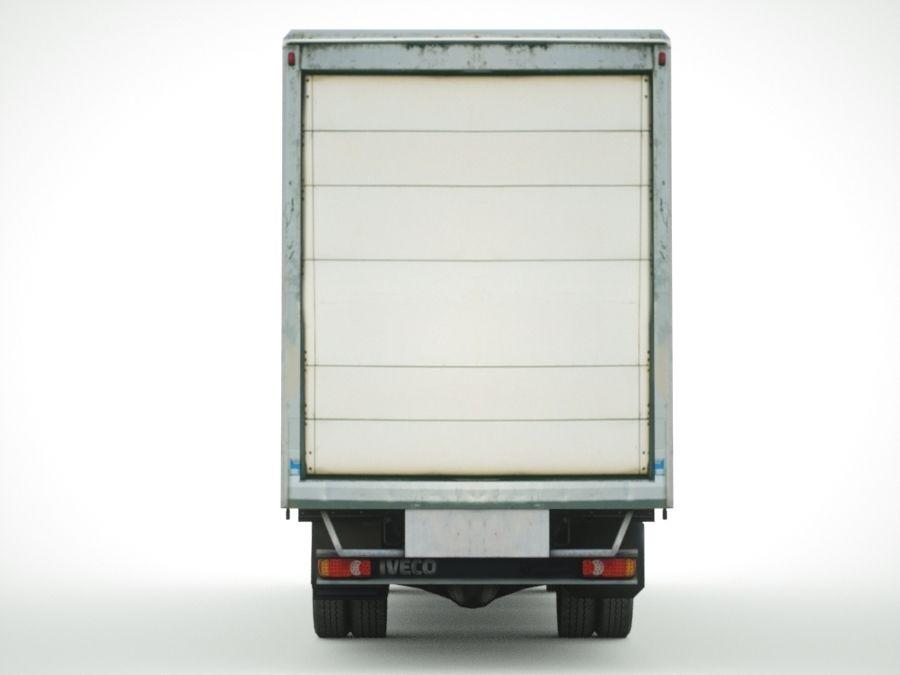 Iveco Eurocargo cargo BOX royalty-free 3d model - Preview no. 5