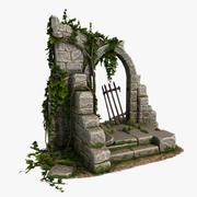 Stone Arc 3d model
