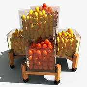 Fruit Rack 3d model