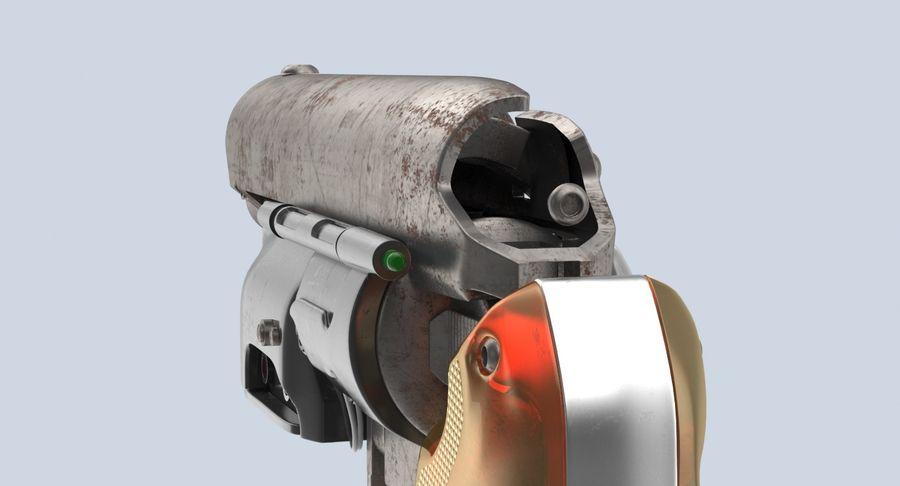 Blade Runner Deckard Gun royalty-free 3d model - Preview no. 10
