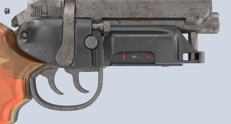 Blade Runner Deckard Gun royalty-free 3d model - Preview no. 11