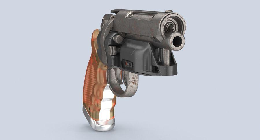 Blade Runner Deckard Gun royalty-free 3d model - Preview no. 9