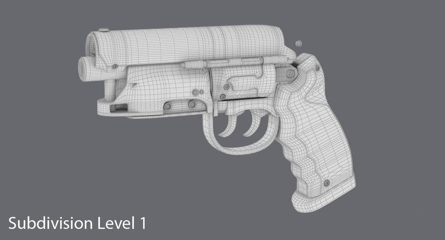 Blade Runner Deckard Gun royalty-free 3d model - Preview no. 18