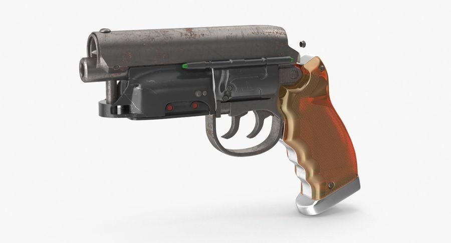 Blade Runner Deckard Gun royalty-free 3d model - Preview no. 2