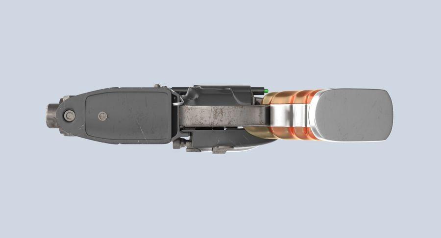 Blade Runner Deckard Gun royalty-free 3d model - Preview no. 14